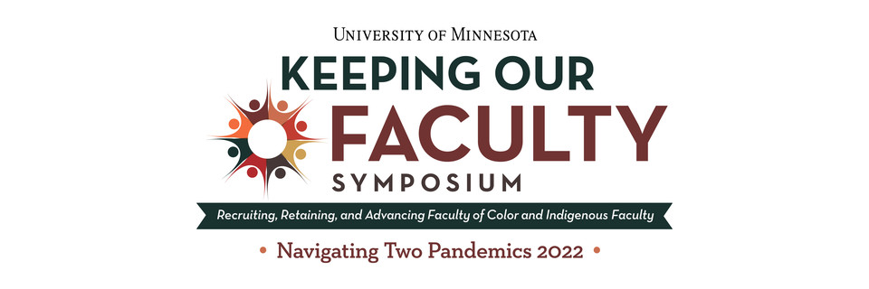 Keeping Our Faculty Symposium logo 2022