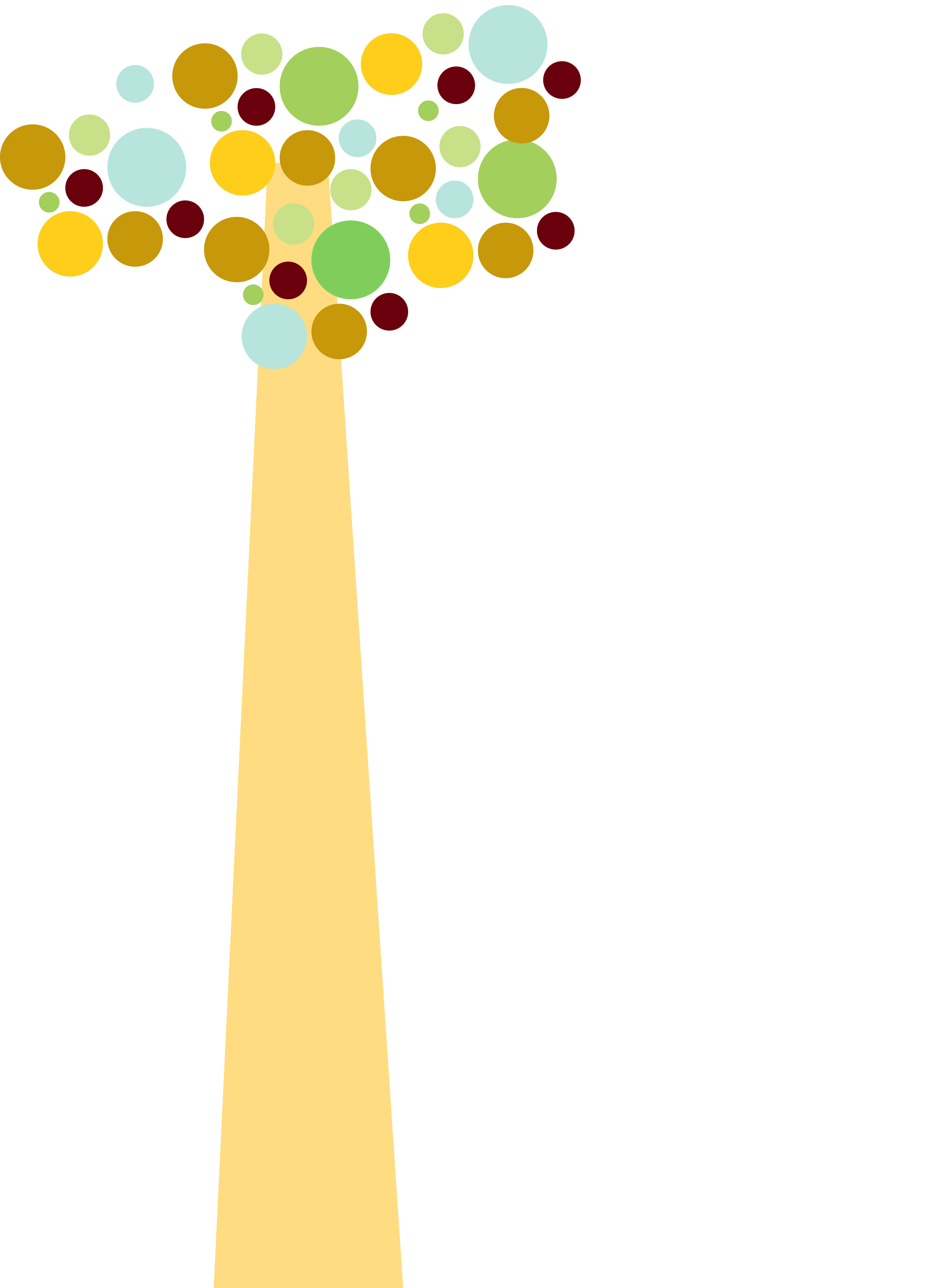 graphic design of a tree