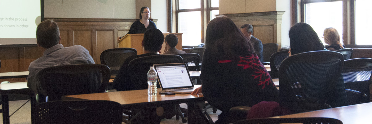 photo from the 2016 Diversity Through the Disciplines Symposium
